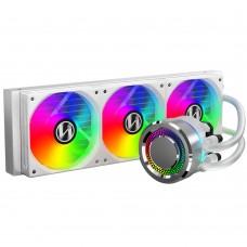 Lian Li Galahad 360mm Closed-Loop AIO Liquid CPU Cooler (White)