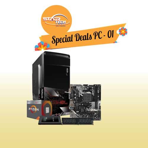 AMD Ryzen 3 3200G Special PC