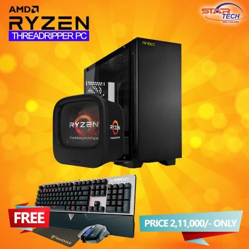 AMD RYZEN Threadripper 1900x Graphics PC