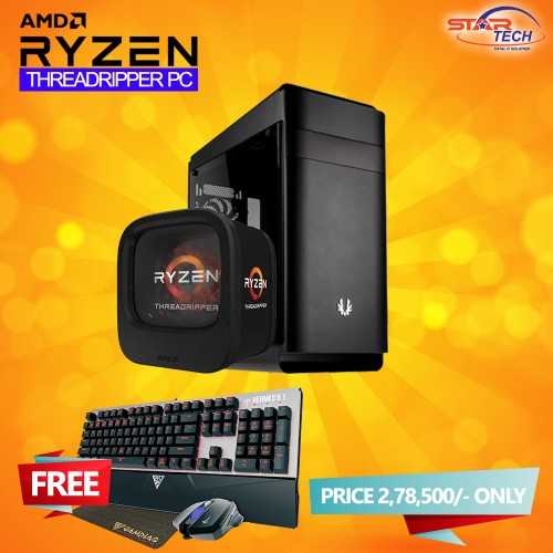 AMD RYZEN Threadripper 1920x Graphics PC