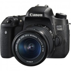 Canon EOS 760D 24.2 MP Built-in Wi-Fi With 18-55mm Lens DSLR Camera