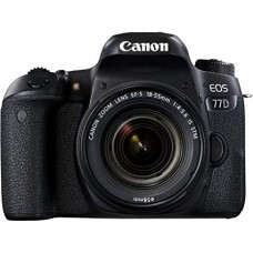 CANON EOS 77D 24.2 MP WITH 18-55MM IS STM LENS FULL HD WI-FI DSLR CAMERA