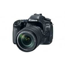 Canon EOS 80D DSLR with With 18-55mm Lens Camera