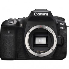Canon EOS 90D 24.2MP 4K WI-FI Touchscreen DSLR Camera (Body Only)
