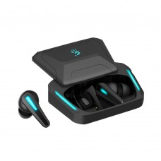 A4TECH Bloody M70 TWS Blue Light ENC Noise Cancelling Bluetooth Gaming Dual Earbuds Black