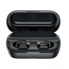 Baseus W01 Encok TWS True Bluetooth Dual Earbuds Black