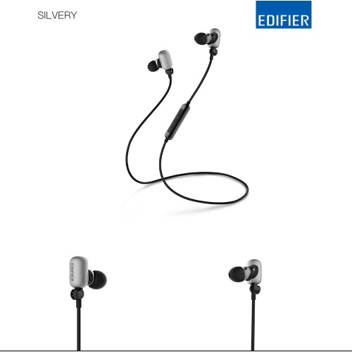 Edifier W293BT Mobile Bluetooth Earbud Silver
