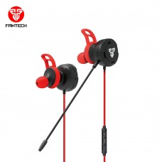 Fantech EG1 3.5mm Gaming & Music Earphone Black (Single & Dual Port)
