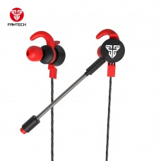Fantech EG2 Scar 3.5mm Single & Dual Port Gaming & Music Earphone Black