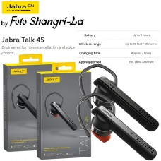 Jabra Talk 45 Bluetooth Single-Ear Ear Phone Black