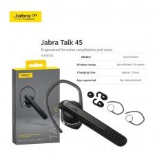 Jabra Talk 45 Bluetooth Single-Ear Ear Phone Black