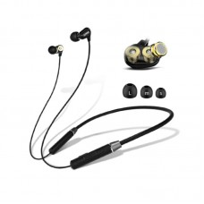 Lenovo HE08 Neckband Dual Dynamic Bluetooth Earphone