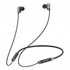 Lenovo HE08 Neckband Dual Dynamic Bluetooth Earphone