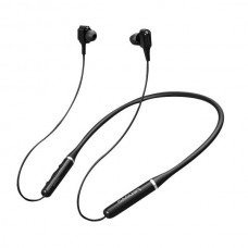 Lenovo XE66 Dual Driver Bluetooth Neckband Earphone Black