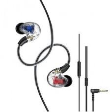 UiiSii CM8 3.5mm Detachable Earphone Black (Single Port)