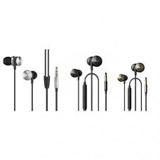 UiiSii Hi905 Balanced Armature 3.5mm Earphone Black (Single Port)