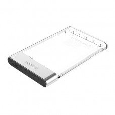 "Orico 2129U3 2.5"" SATA HDD/SSD USB 3.0 Transparent Enclosure"