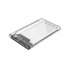 "Orico 2139C3 (Type C 3.1) 2.5"" SATA HDD/SSD Transparent Enclosure Usb 3.0"