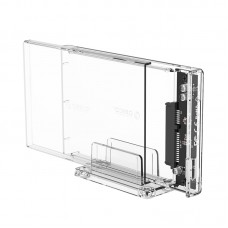 Orico 2159U3 2.5 inch Transparent USB3.0 HDD Enclosure with Stand