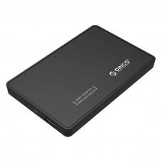 "Orico 2588US3 2.5"" SATA HDD/SSD USB 3.0 Enclosure Black"