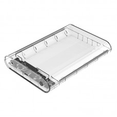 ORICO 3139C3 Transparent 3.5 Inch External Hard Drive Enclosure