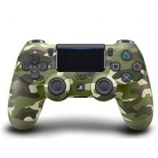 PS4 Dualshock 4 Wireless Controller Green Camouflage (Original)