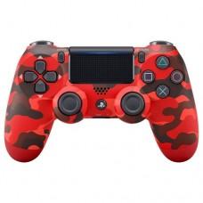 PS4 Dualshock 4 Wireless Controller Red Camouflage (Original)