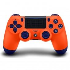 PS4 DualShock 4 Wireless Controller Sunset Orange (Original)