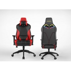 Gamdias ACHILLES E1 L Gaming Chair Black and Red