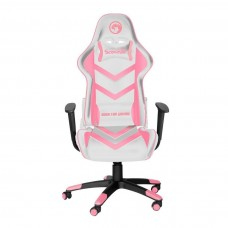 Marvo Scorpion CH-106 Adjustable Gaming Chair White Pink