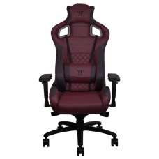 Thermaltake X-Fit Real Leather Burgundy-Red Gaming Chair