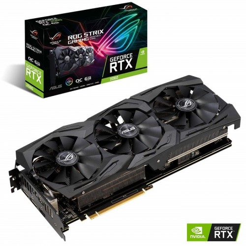 Asus ROG Strix GeForce RTX 2060 OC edition 6GB GDDR6 Graphics Card