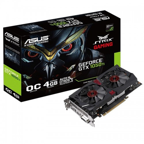 Asus Geforce GTX 1050 Ti Strix DC2 OC 4G GDDR5 Graphics Card