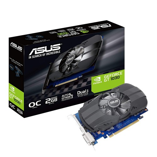 Asus Phoenix GeForce GT 1030 OC edition 2GB DDR4 Graphics Card