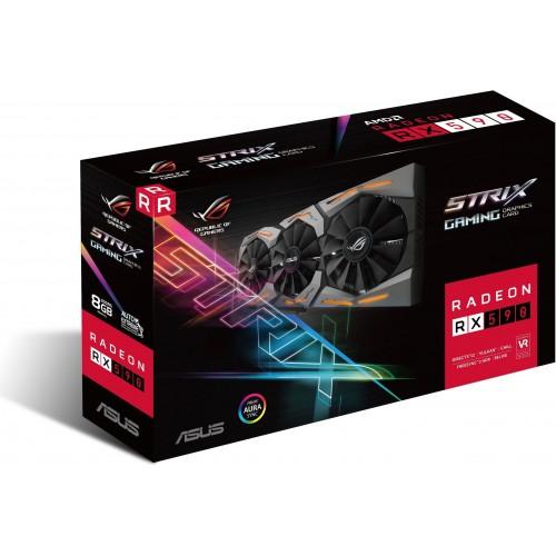 Asus ROG Strix Radeon RX 590 8GB GDDR5 Graphics Card