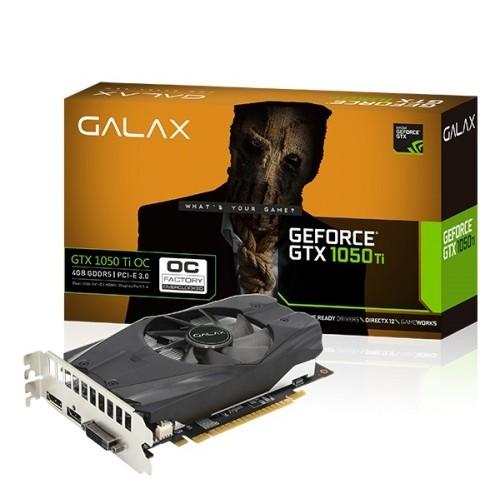 GALAX GeForce® GTX 1050 Ti OC DDR5 4 GB Graphics Card