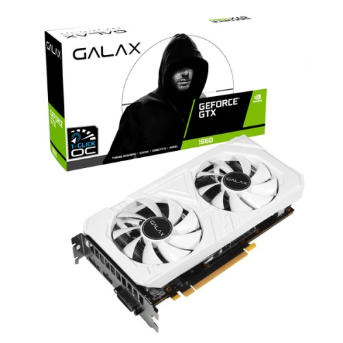 Galax GeForce GTX 1660 EX (1-Click OC) 6GB GDDR5 Graphics Card