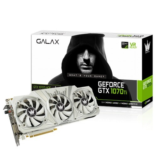 GALAX GeForce GTX 1070 Ti HOF 8 GB GDDR5/X Graphics Card