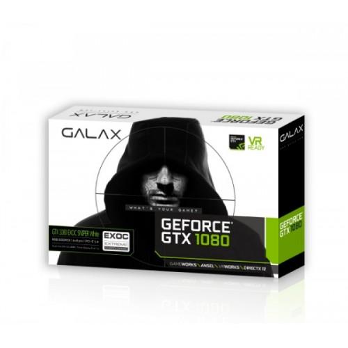 GALAX GeForce® GTX 1080 EXOC-SNPR WHITE 8GB GDDR5/X Graphics Card