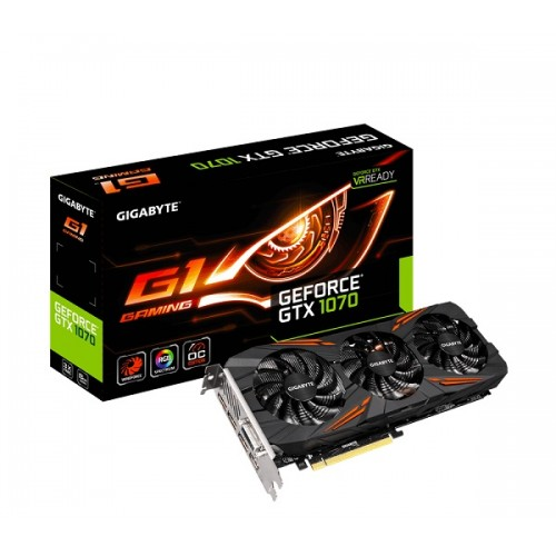Gigabyte GTX 1070 G1 8GB DDR5 Gaming Graphics Card