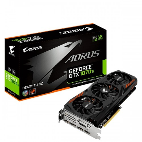 Gigabyte Aorus GeForce GTX 1070 Ti 8G GDDR5 Graphics Card