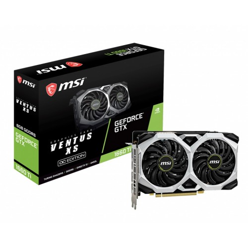 MSI GeForce GTX 1660 Ti VENTUS XS 6G OC Graphics Card