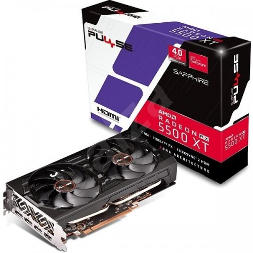 Sapphire Pulse Radeon Rx 5500xt 8gb Graphics Card Price In Bangladesh