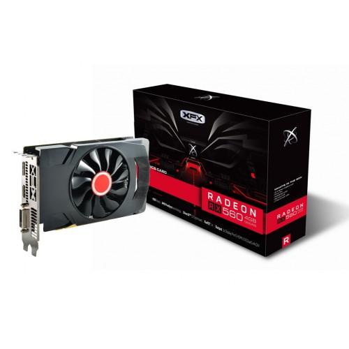 XFX Radeon RX 560 4GB DDR5 PCI-E AMD Graphics Card (RX-560D4SFG5)