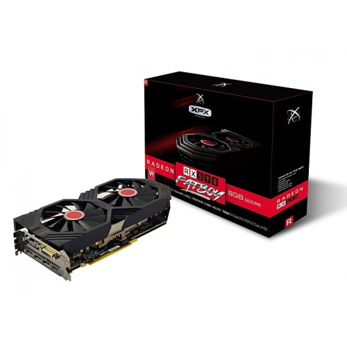 XFX Amd Radeon RX590 Fatboy 8GB OC DDR5 Graphics Card