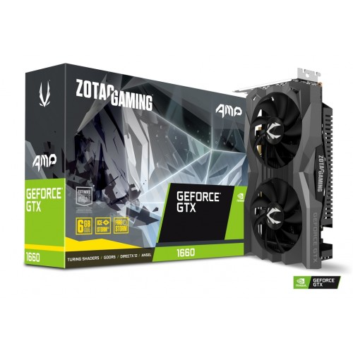 Zotac Gaming GeForce GTX 1660 AMP 6GB GDDR5 Graphics Card