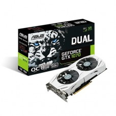 ASUS DUAL-GTX1070-O8G 8GB Graphics Card
