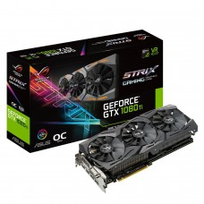 ASUS ROG STRIX GTX1080TI OC 11GB DDR-5 GAMING Graphics Card