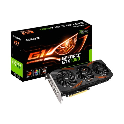 Gigabyte GV-N1080G1 GAMING-8GD 8 GB DDR5 Graphics Card