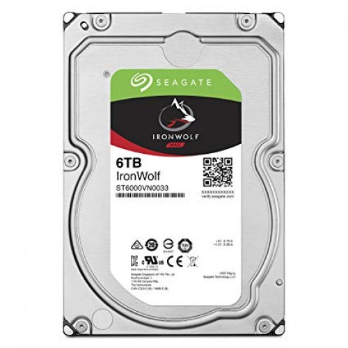 Seagate IronWolf 6TB Internal SATA Hard Drive